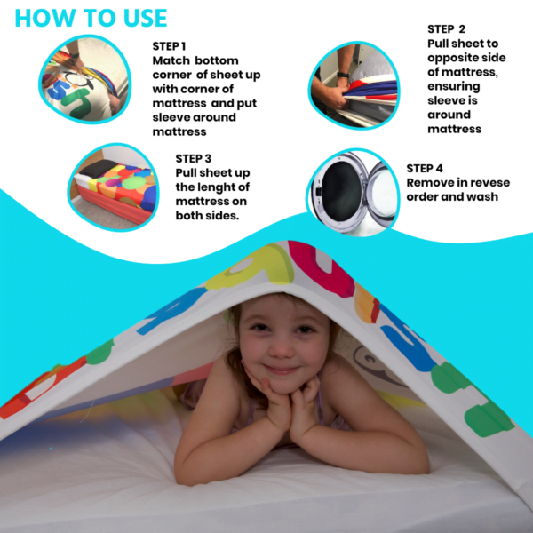 kids single bed sheets